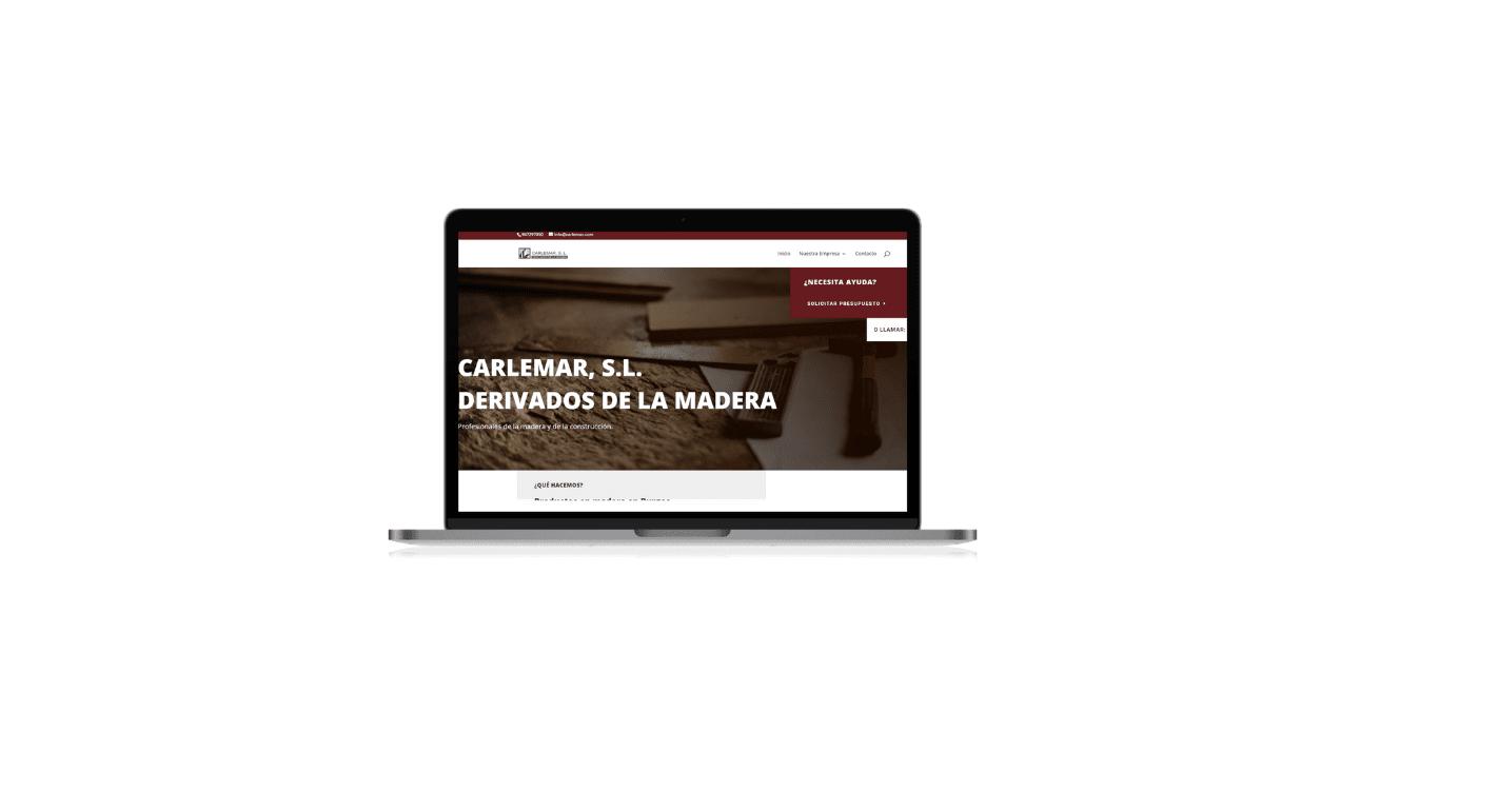 Diseño web carlemar